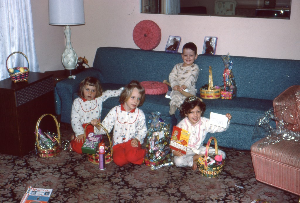 Easter, circa somtime in the 60s.