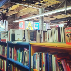 Open Books Store in Chicago. If you haven't been there, you're a ninny.